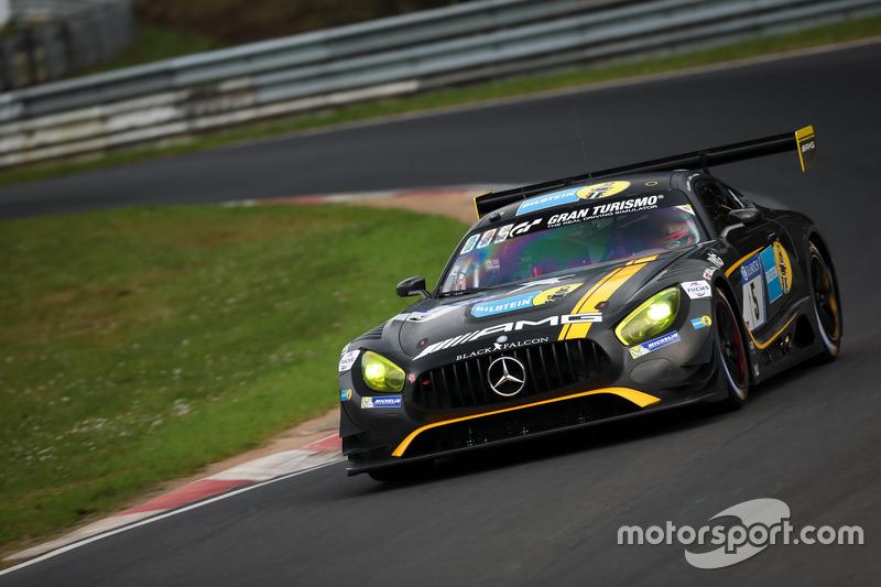 #5 Black Falcon - Yelmer Buurman (Mercedes-AMG GT3)