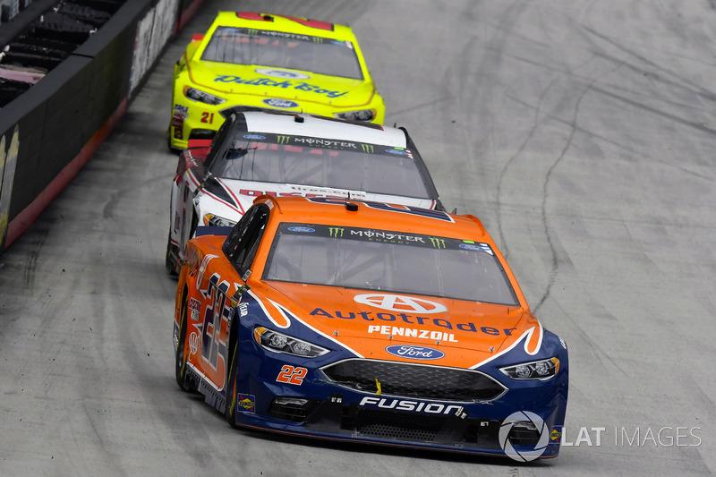 Joey Logano, Team Penske, Ford Fusion Autotrader