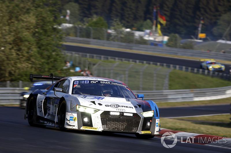 7. #3 Audi Sport Team Phoenix Audi R8 LMS GT3: Christopher Haase, Frank Stippler, Frederic Vervisch, Nico Müller