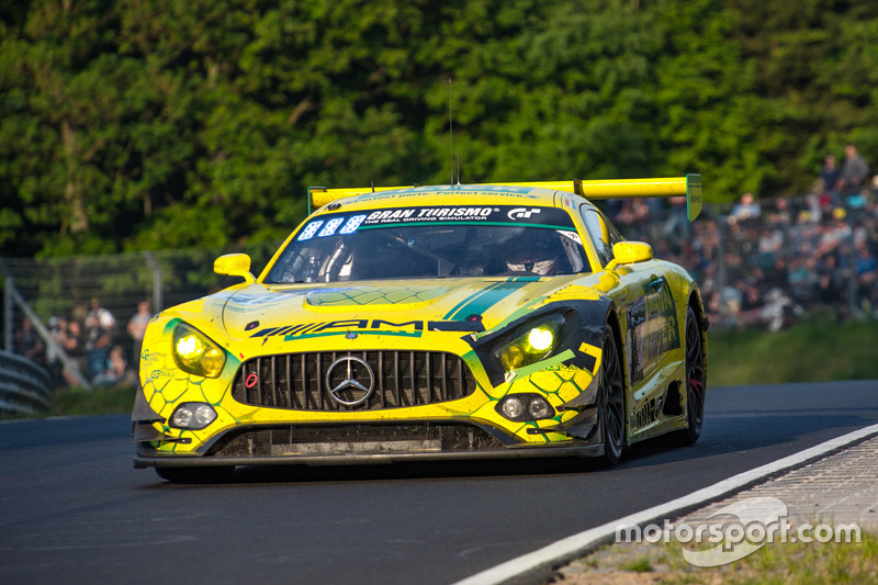 Кристиан Хохенадель, Инди Донтье, Максимилиан Гётц, Ренгер ван дер Занде, Mercedes-AMG Team Mann Filter, Mercedes-AMG GT3 (№48)