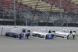 Brandon Jones, Joe Gibbs Racing, Toyota Camry Toyota XYO Networks and Cole Custer, Stewart-Haas Racing, Ford Mustang Code 3 Associates