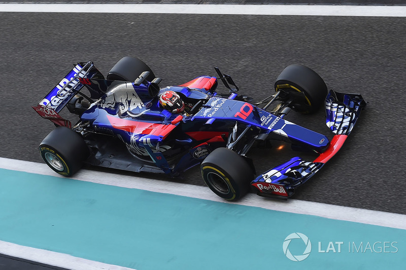 Pierre Gasly, Scuderia Toro Rosso STR12 (0 abandonos)