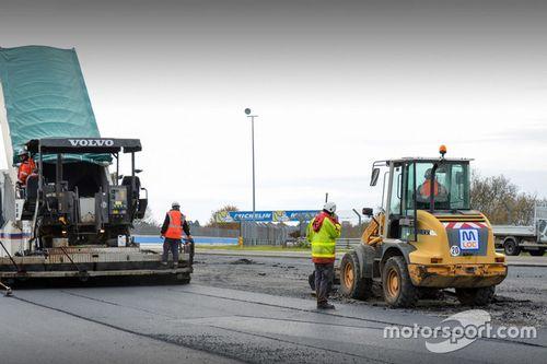 Le Mans Veranderingen Porsche Curves