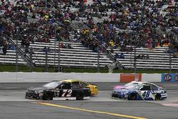 Cole Whitt, TriStar Motorsports Chevrolet, Jimmie Johnson, Hendrick Motorsports Chevrolet