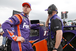 Denny Hamlin, Joe Gibbs Racing, Toyota Camry FedEx Office Michael Wheeler