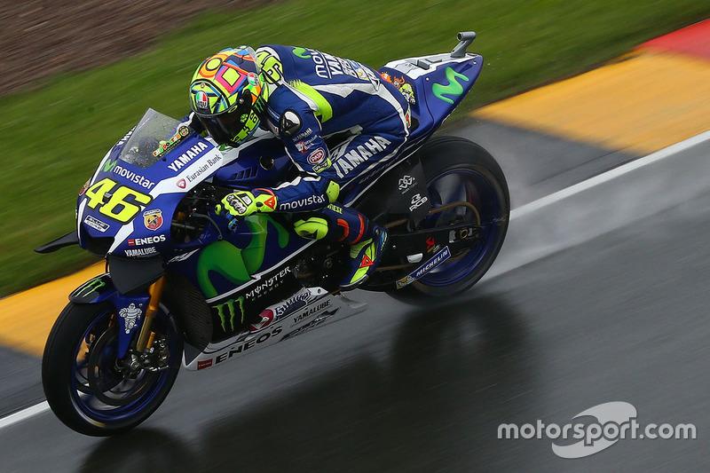 8. Valentino Rossi, Yamaha Factory Racing