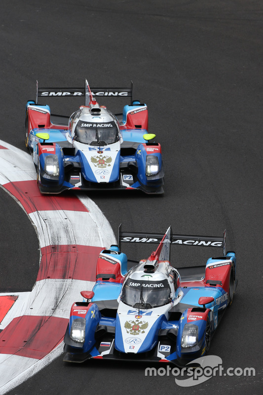 #27 SMP Racing BR01 - Nissan: Maurizio Mediani, Nicolas Minassian, David Markozov; #37 SMP Racing BR