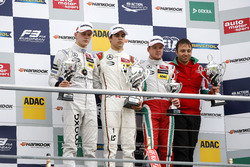 Podium: race winner Lance Stroll, Prema Powerteam Dallara F312 - Mercedes-Benz; second place Maximilian Günther, Prema Powerteam Dallara F312 - Mercedes-Benz; third place Nick Cassidy, Prema Powerteam Dallara F312 - Mercedes-Benz