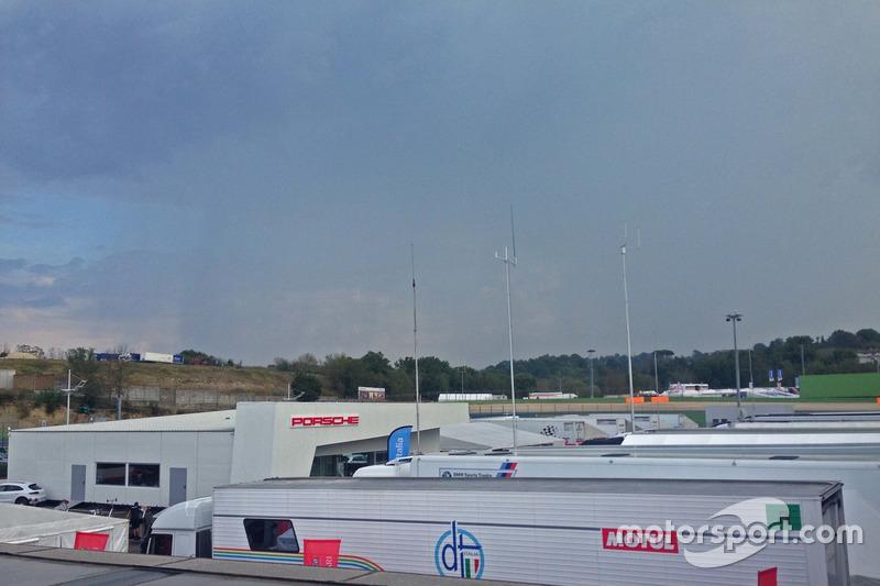 Pioggia a Vallelunga