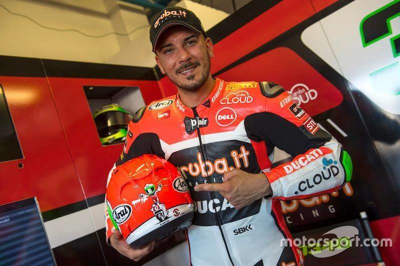 Davide Giugliano, Aruba.it Racing - Ducati SBK, casco celebrativo