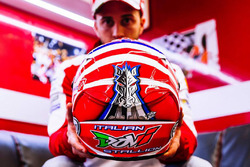 Il nuovo casco di Andrea Dovizioso, Ducati Team