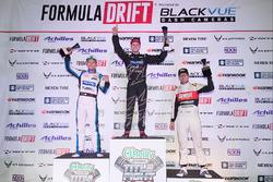Podium: race winner Matt Field, second place Daijiro Yoshihara, third place Ryan Tuerck