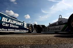 Porsche 956 and Williams F1
