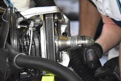 Detalle del disco de freno del FW40 de Williams