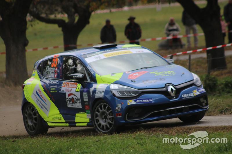 Clio R3T Trophy Alps: Rallye International du Valais