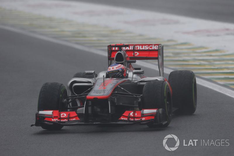 4º - Jenson Button – 36 GPs entre 2012 e 2014