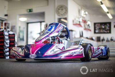 Visita alla Spirit Karting di Cyndie Allemann