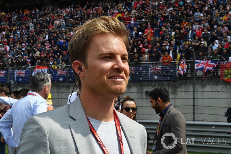 Nico Rosberg, ambassadeur Mercedes-Benz sur la grille