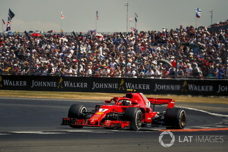 Raikkonen wasn't amused when Ferrari ignored his strategic suggestion