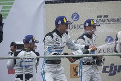 Podio: #4 Mercedes-AMG Team Black Falcon Mercedes-AMG GT3: Maro Engel, Adam Christodoulou, Manuel Metzger, Dirk Müller