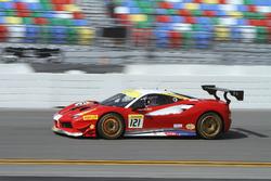 #121 Ferrari van Tampa Bay Ferrari 458: Luis Perusquia