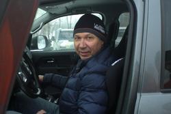 Леонід Протасов - ледве встигли поміняти амортизатори!