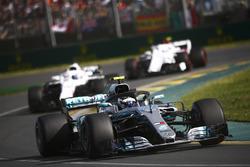 Valtteri Bottas, Mercedes AMG F1 W09, Lance Stroll, Williams FW41 Mercedes, and Charles Leclerc, Sauber C37 Ferrari