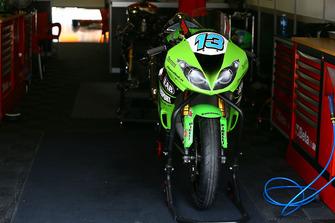 Anthony West, EAB Antwest Racing bike