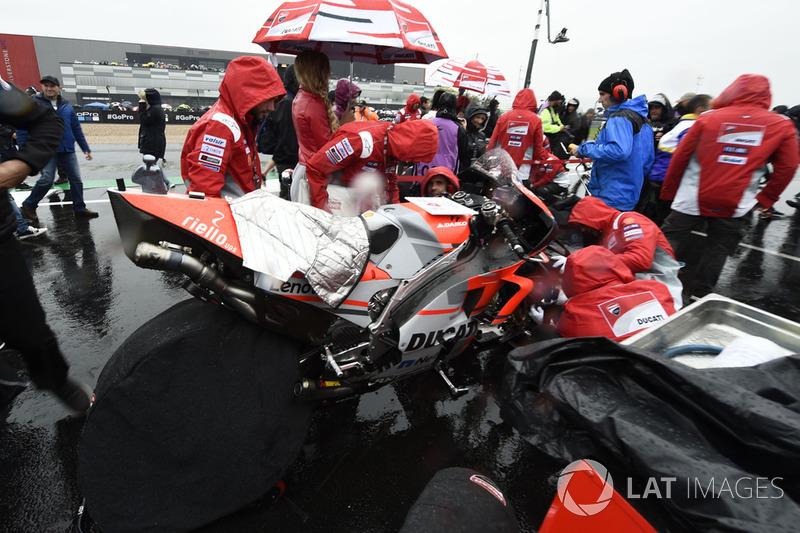 Команда Ducati на стартовій решітці