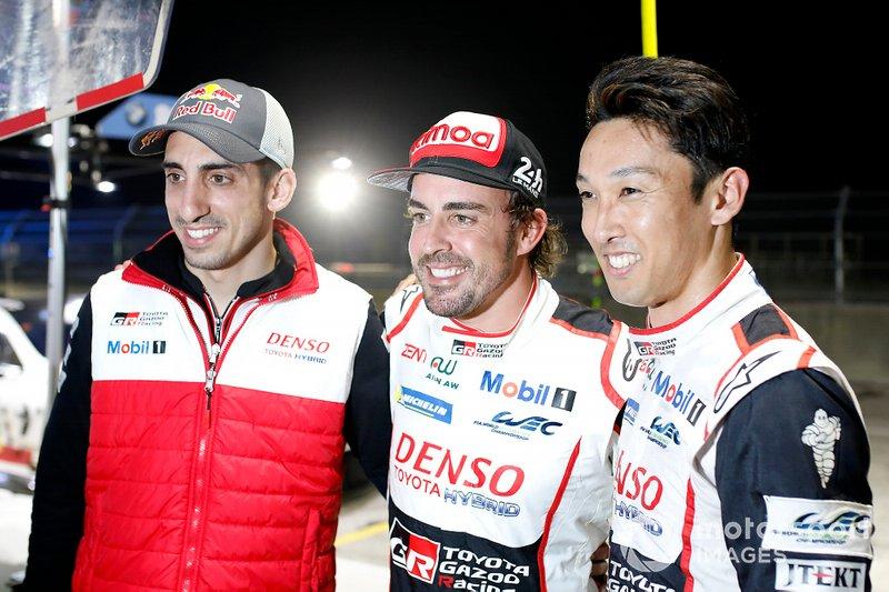 Pole position per #8 Toyota Gazoo Racing Toyota TS050: Sébastien Buemi, Kazuki Nakajima, Fernando Alonso