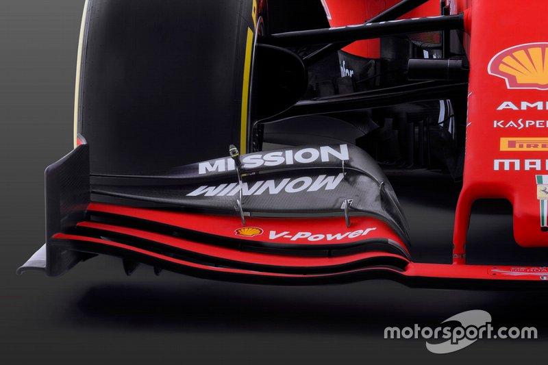 Detalle del Ferrari SF90 2019