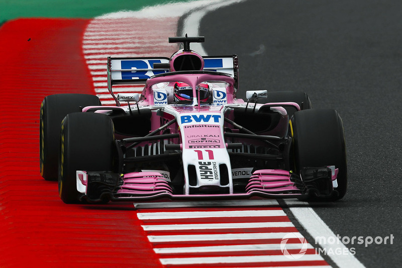 9: Sergio Perez, Racing Point Force India VJM11, 1'37.229