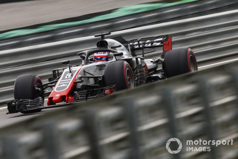 8: Romain Grosjean, Haas F1 Team VF-18, 1'08.517