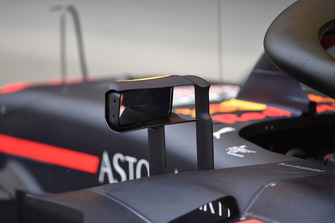 Espejo en el Red Bull Racing RB14