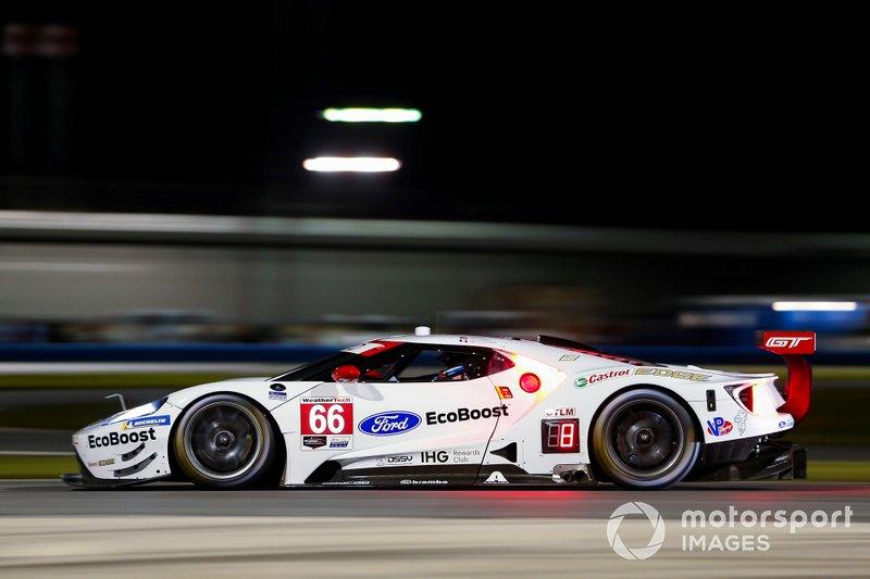 #66 Joey Hand, Dirk Müller, Sebastien Bourdais; Ford Chip Ganassi Racing, Ford GT (GTLM)