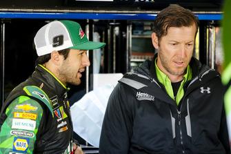 Chase Elliott, Hendrick Motorsports, Chevrolet Camaro Mountain Dew and crew chief Alan Gustafson