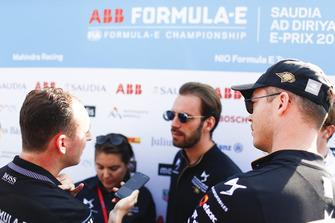 Гонщики DS Techeetah Formula E Team Андре Лоттерер и Жан-Эрик Вернь
