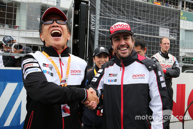 Fernando Alonso, Toyota Gazoo Racing, Shigeki Tomoyama, Presidente Gazoo Racing