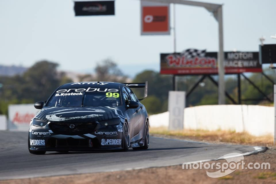 Supercars is trialling windscreen graphics in testing.