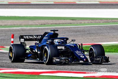 Alonso Renault Bahrain testing