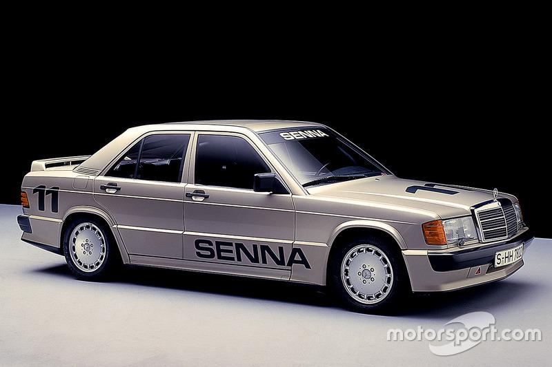 El auto de Ayrton Senna da Silva