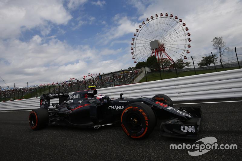 17. Jenson Button, McLaren MP4-31