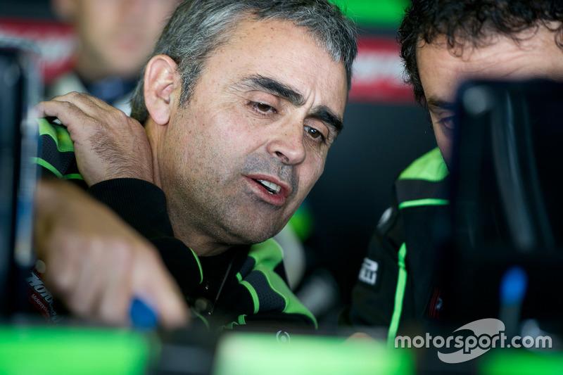 Pere Riba, Crewchief von Jonathan Rea, Kawasaki Racing Team