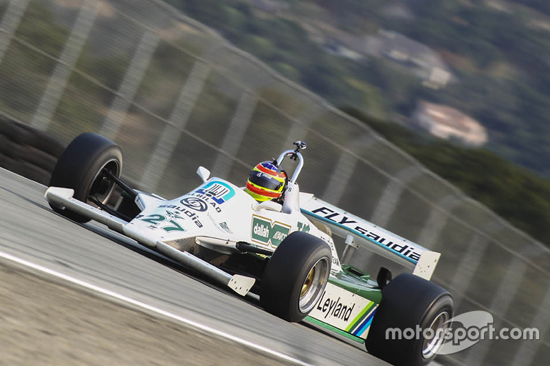 Zak Brown, Williams FW07B