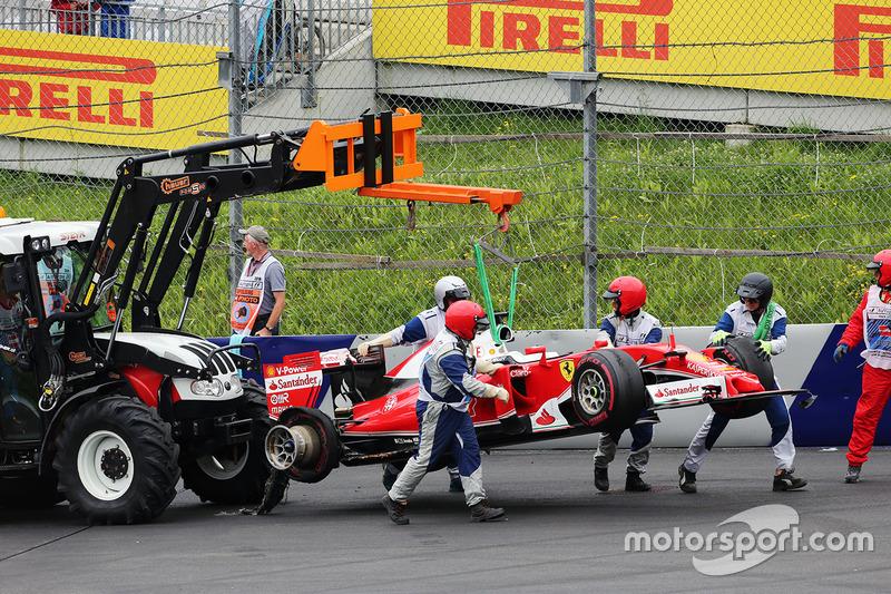 Ferrari SF16-H de Sebastian Vettel