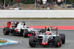 Эстебан Гутьеррес, Haas F1 Team VF-16 и Ромен Грожан, Haas F1 Team VF-16