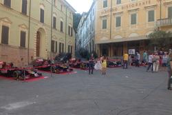 Le 10 monoposto della Toro Rosso in esposizione