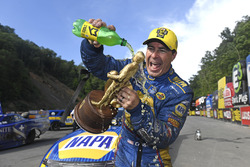 Funny Car winner Ron Capps