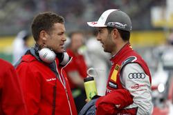 Tom Kristensen and Mike Rockenfeller, Audi Sport Team Phoenix, Audi RS 5 DTM
