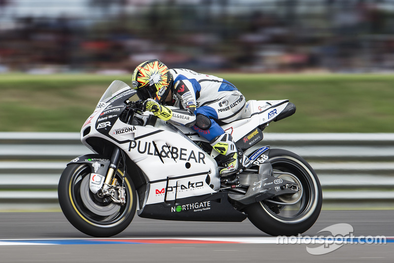 Karel Abraham, Aspar Racing Team, practice start